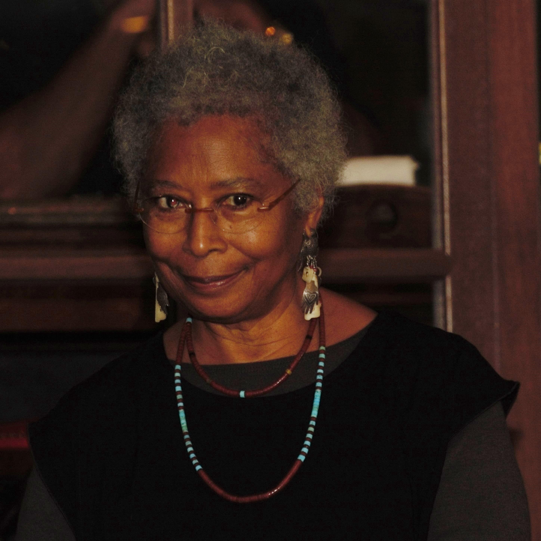 Alice Walker at Busboys & Poets 450K. Photo courtesy of Brian Scorpio Vaughan