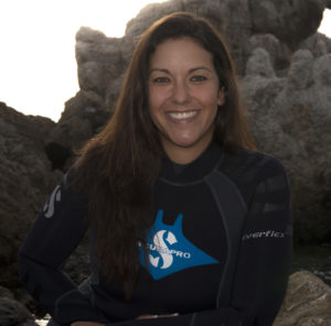 """Photo of Andrea Marshall """"Queen of Mantas"""""""