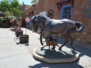 Art gallery in Santa Fe