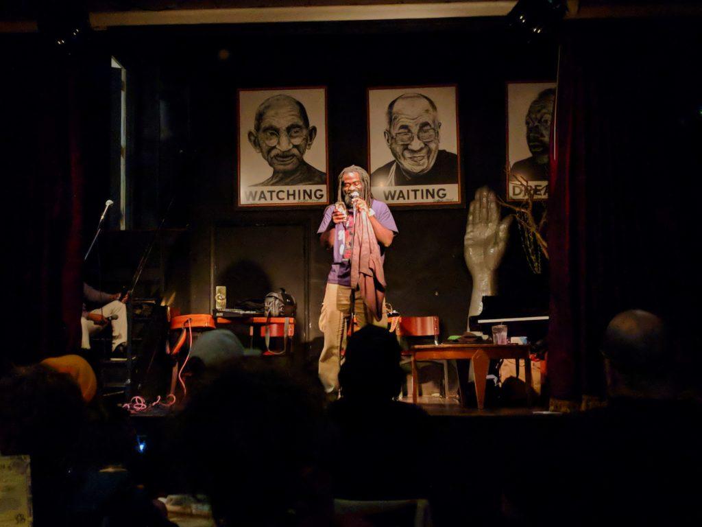 Black Root at Busboys and Poets. Photo: Daniel Baldwin