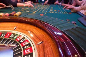 Casino Roulette Table