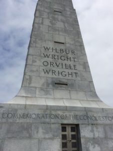 Photo of Wright Brothers monument taken by Tonya Fitzpatrick.