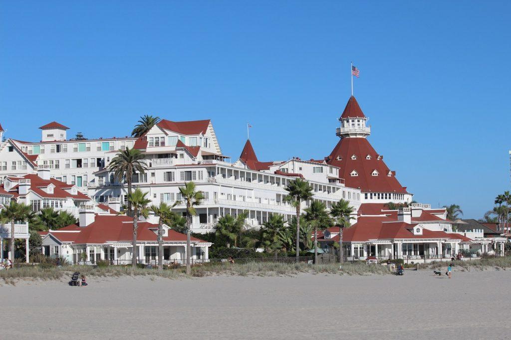 Hotel del Coronado in San Diego.
