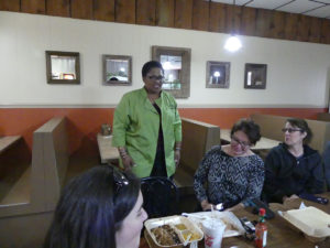 Laura II's restaurant owner Madonna Broussard. Photo: Kathleen Walls