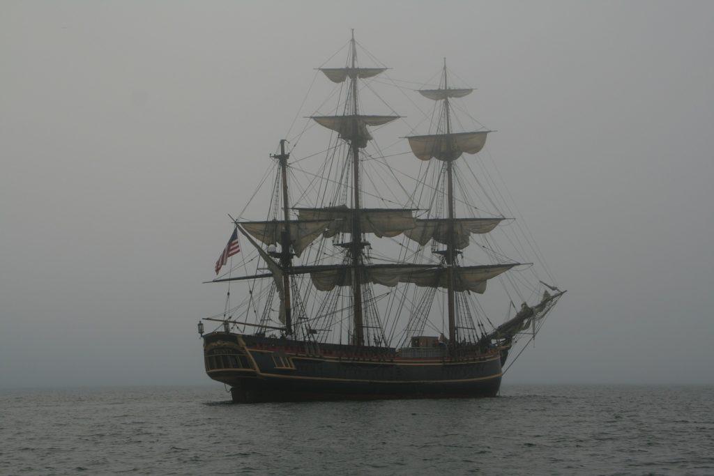 Replica of a British Schooner