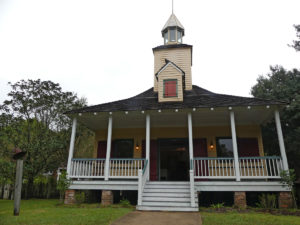 The village church. Photo: Kathleen Walls