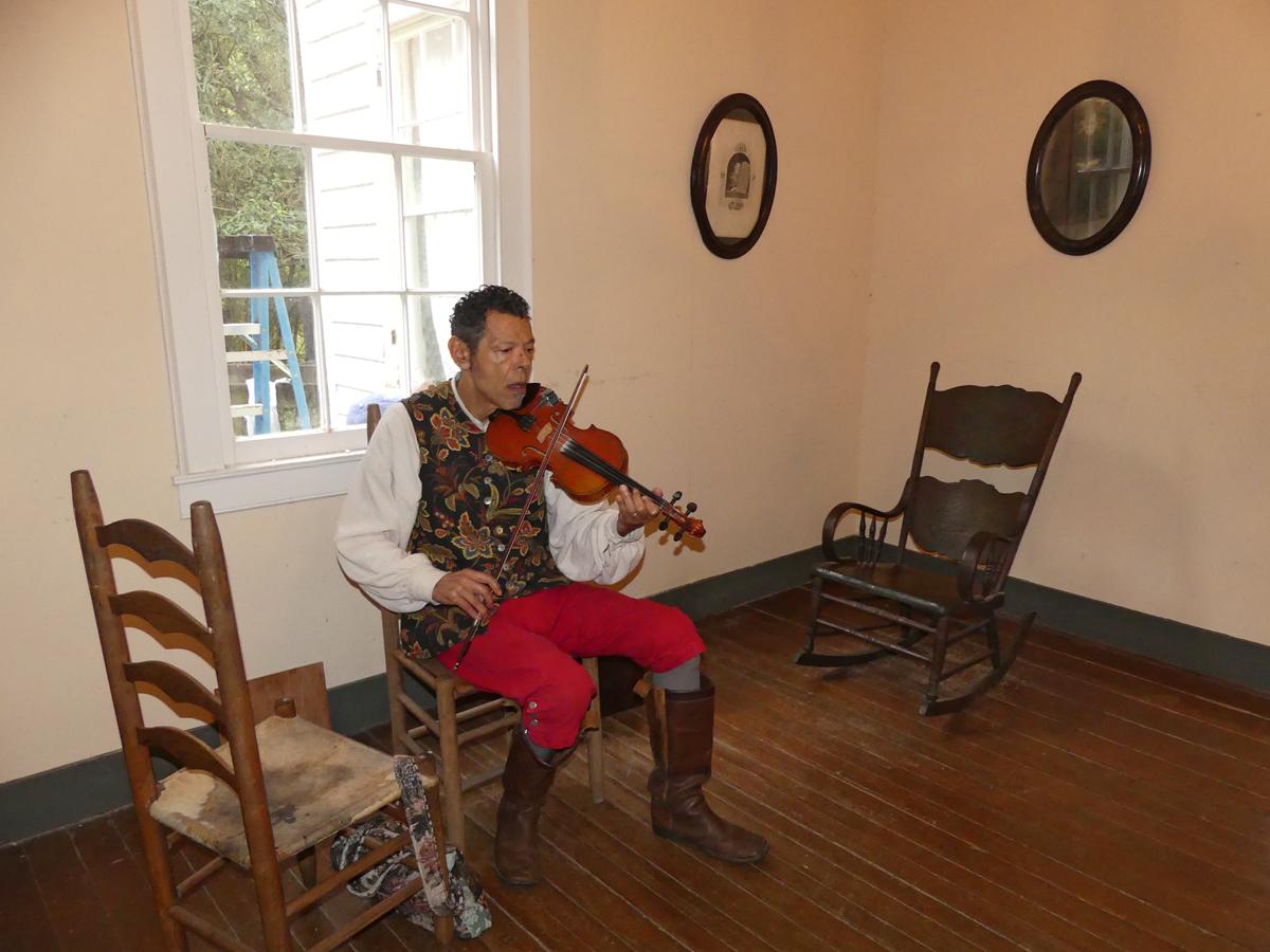 Creole fiddler, D'Jalma Garnier. Photo: Kathleen Walls