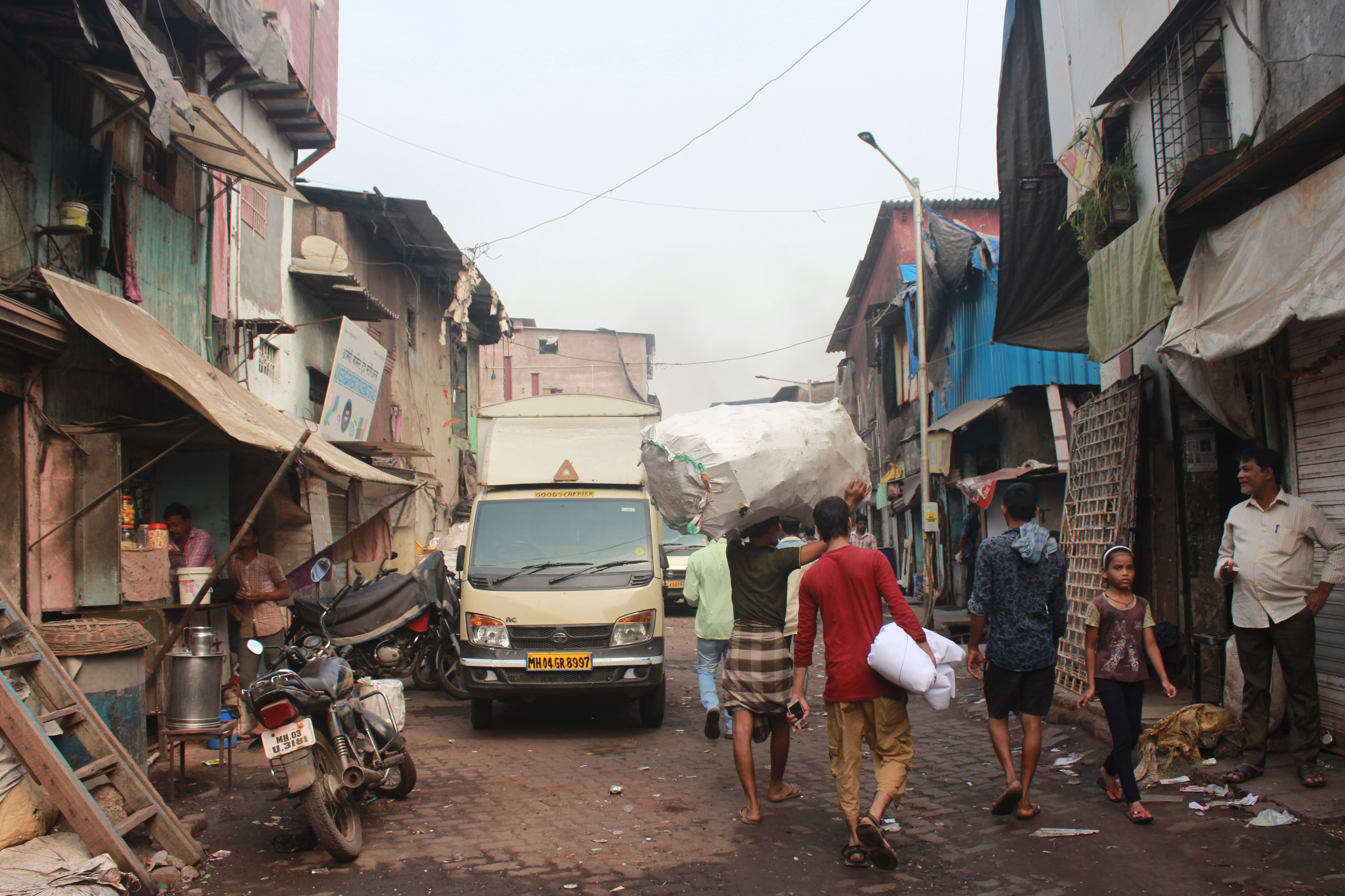 A street in Mumbai's Dharavi Slum--one of the largest in Asia. Photo: Bianca Caruana (with permission from Be The Local Tours)