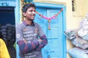 Dharavi Student Tour Guide. Photo: Bianca Caruana
