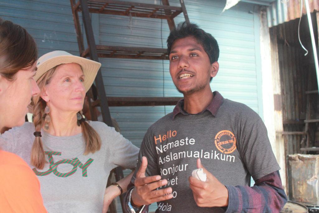 Mumbai Slum tour. Photo: Bianca Caruana