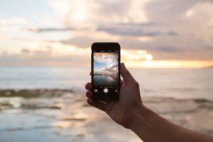 Cell Phone on the beach