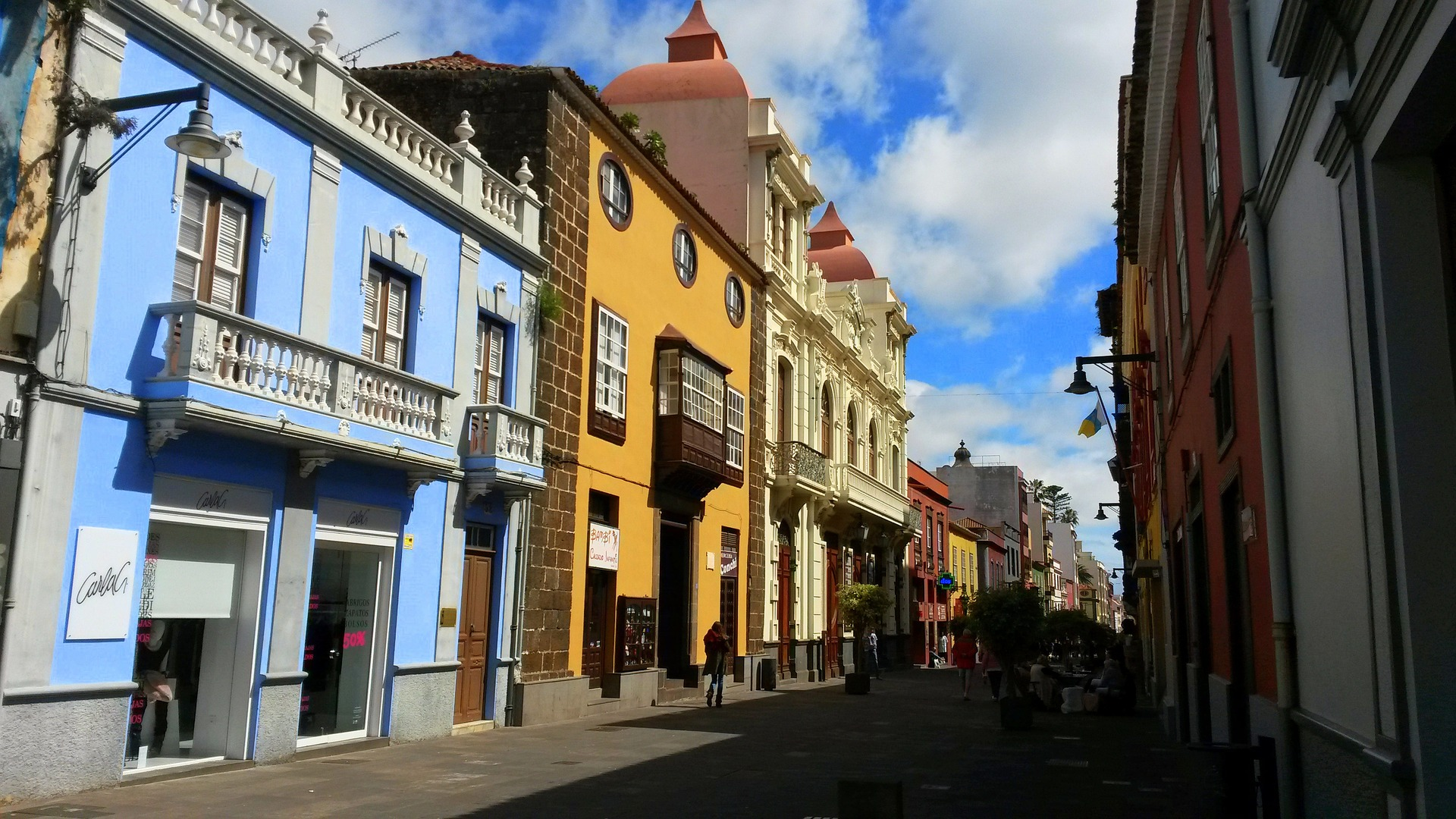 The UNESCO World Heritage Site of La Laguna.