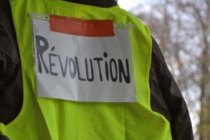 Yellow vests of Paris protests