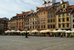 Warsaw's Old Town.