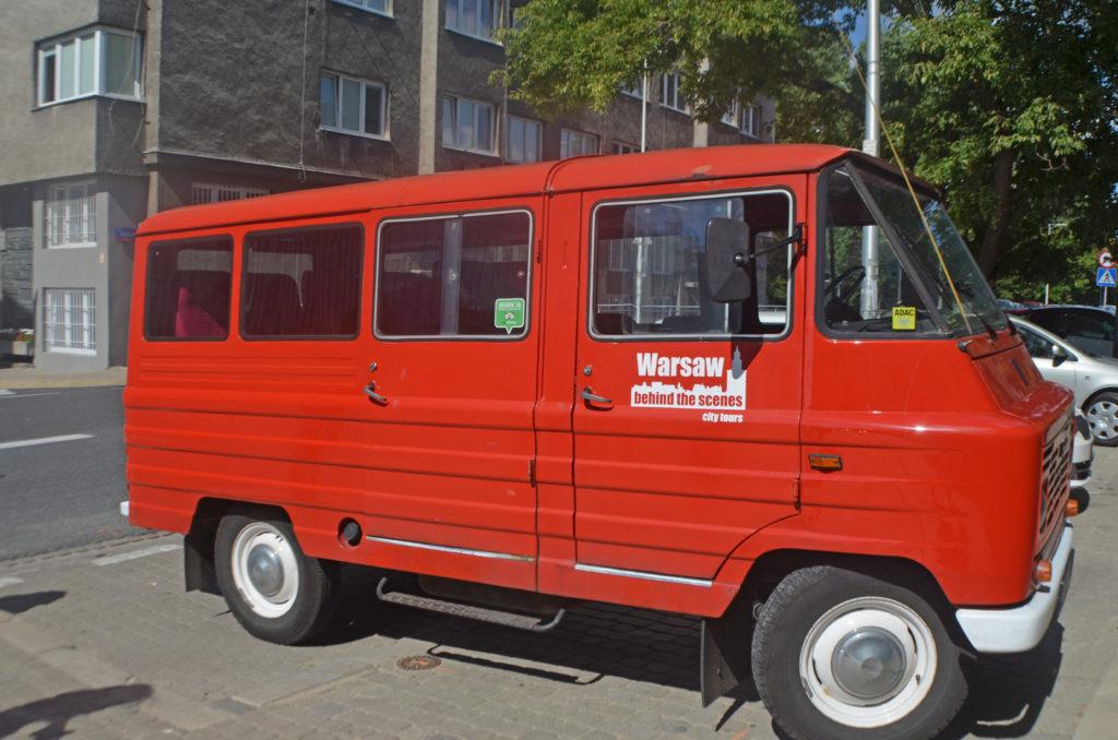 Communist era mini tour bus. Photo: Patti Morrow