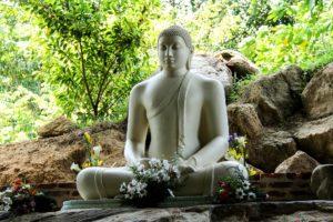 Large Buddha statue in Sri Lanka
