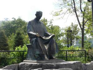 Statue of Tesler. Photo: Kathleen Walls