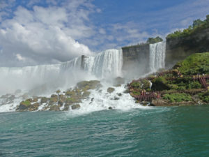 View of Niagara Falls from Maid of the Mist. Photo: Kathleen Falls