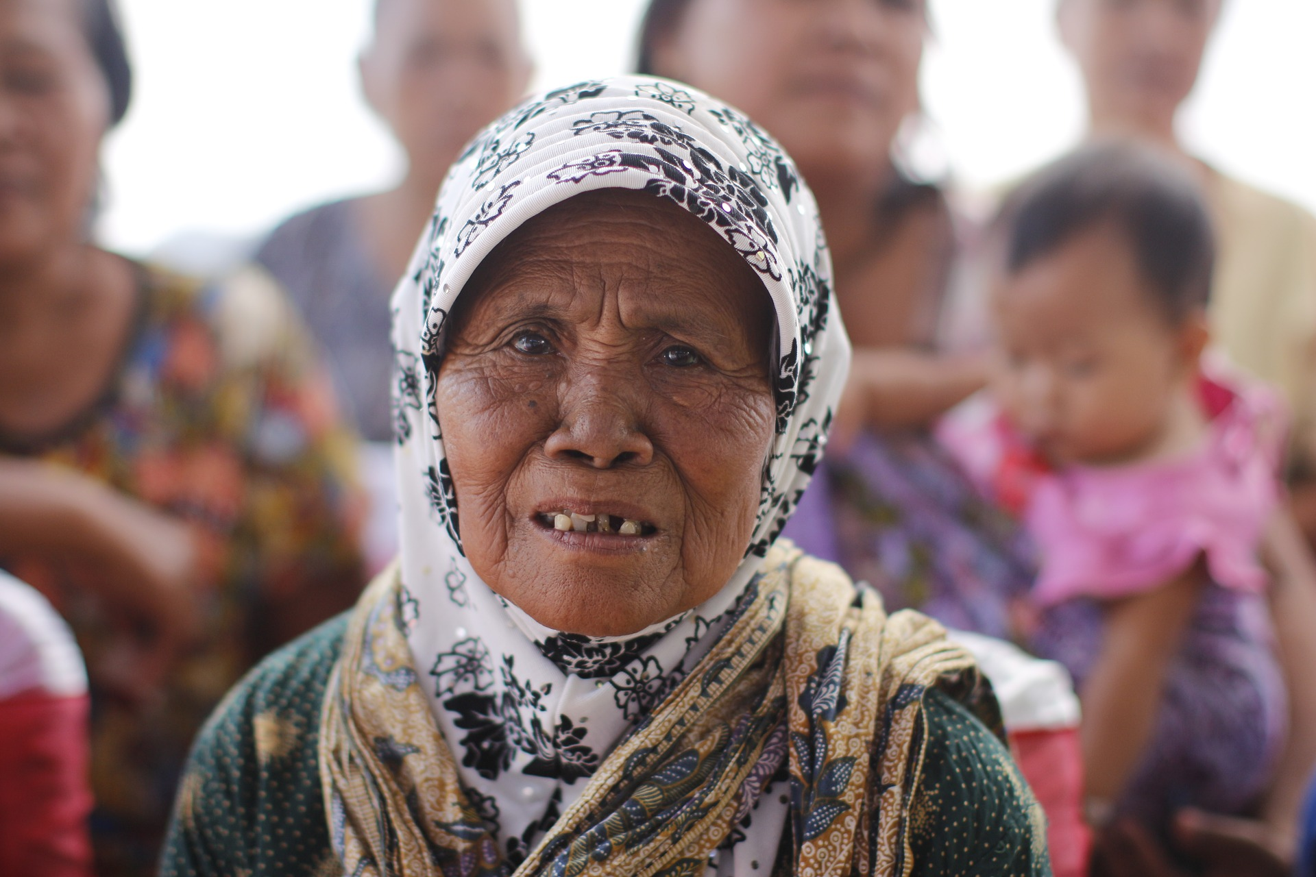 An elder resident of Java