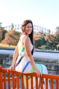 Travel writer Katie Dundas