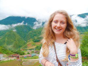 Head shot of travel writer Rose Munday