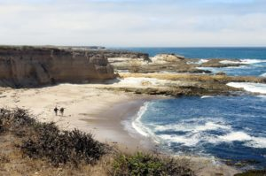 A beach in San Luis Obispo, California.