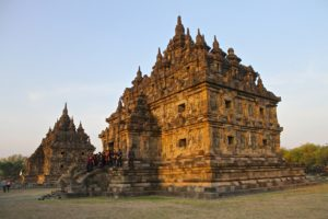 Candi Plaosan, also known as the 'Plaosan Complex', is one of the Buddhist temples located in Bugisan village, Java, Indonesia.