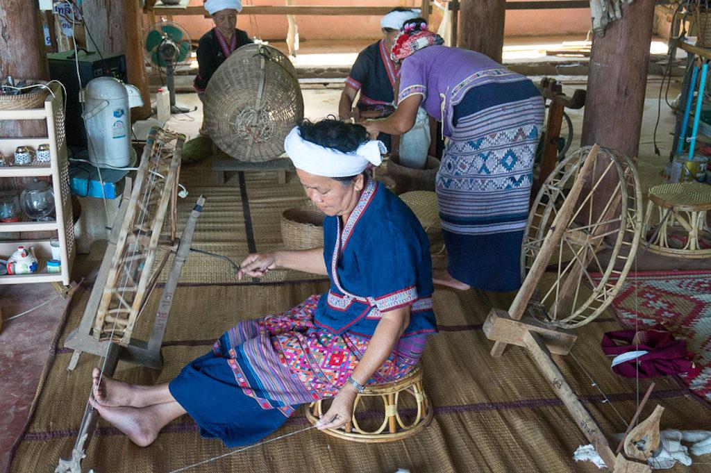 Basket weavers. Photo: Katie Dundas