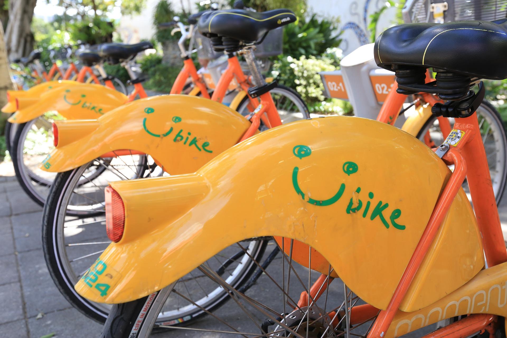 Bikes in Taipei