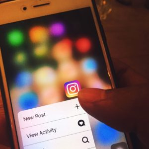 instagram post on mobile
