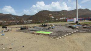 Evidence of Hurricane Irma's destruction. Photo: Breana Johnson