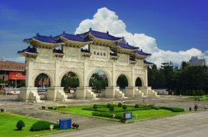 Chiang Kai Shek Memorial Hall at Liberty Square
