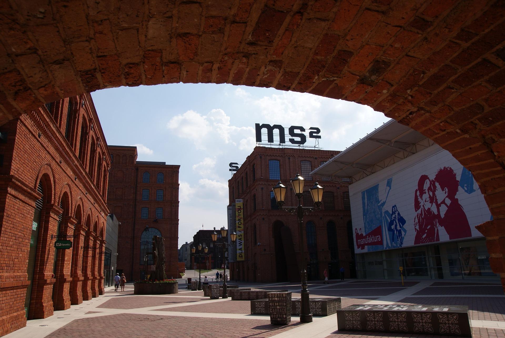 Manukatura Complex in Lodz