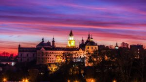 The medieval Lublin Castle.