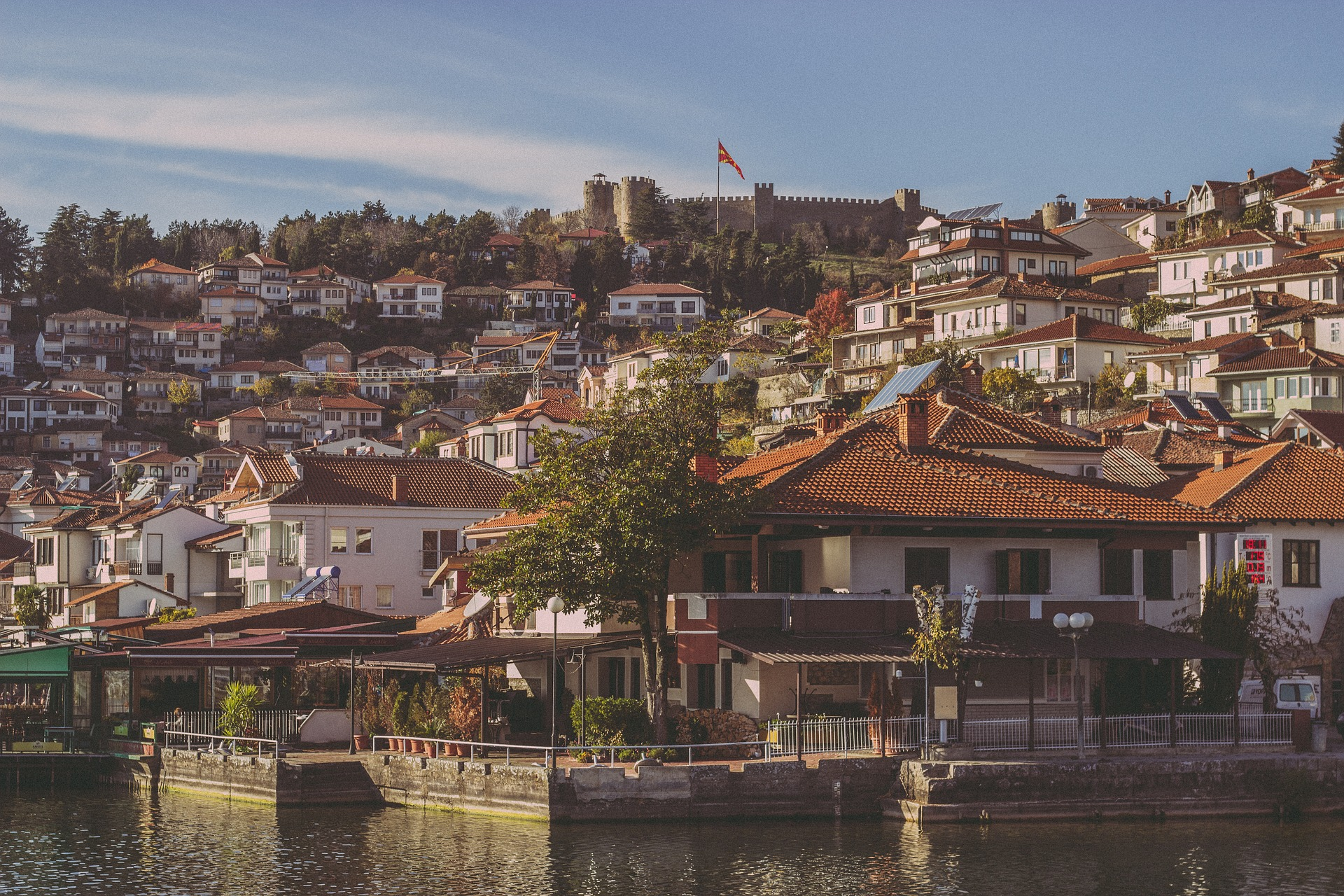 The town of Ohrid