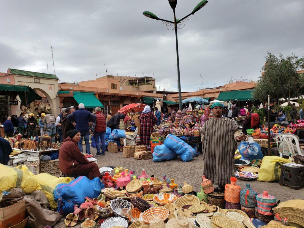 Marrakech Medina. Photo taken by Ana Astri-O'Reilly.