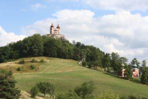 The famous Banská Štiavnica Chapel.