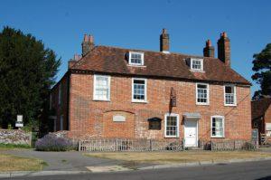 Jane Austen House Museum. Photo is courtesy of WikiCommons
