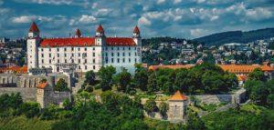 Bratislava Castle in Slovakia's capital city Bratislava.