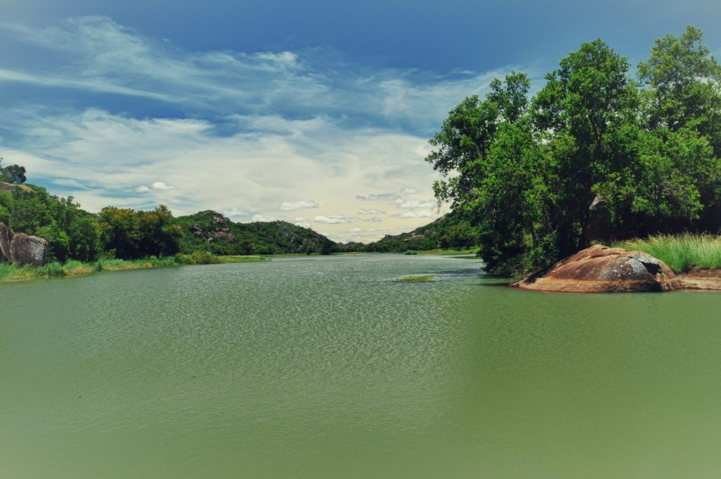 Maleme Dam in the Matopos National Park