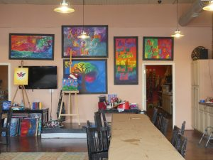 Inside All About Art. Photo: Kathleen Walls