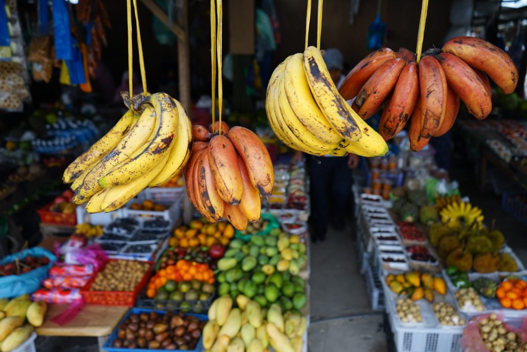 Kundasang fruit and vegetable market. Photo: Ziba Redif