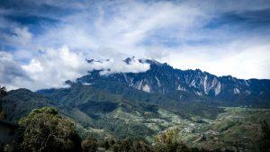A view of Mount Kinabalu. Photo: Ziba Redif
