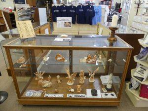 Artifacts and gifts at Pea River Historical Society. Photo: Kathleen Walls