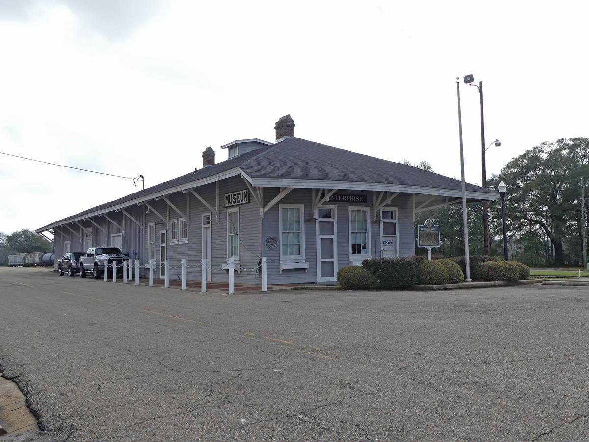 Depot Museum. Photo: Kathleen Walls