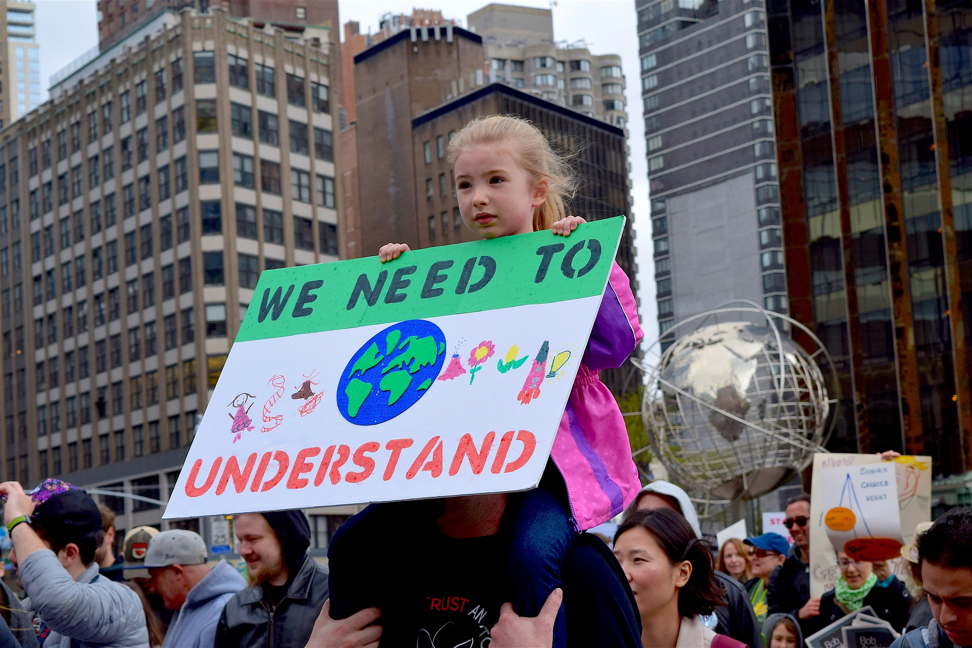 Raising awareness about the importance of global warming, science and earth sustainability.