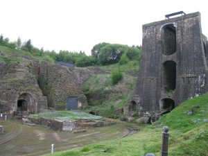 Blaenavon Ironworks and workers cottages. Photo courtesy of CC.