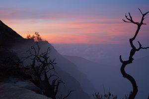Sunset in Licin