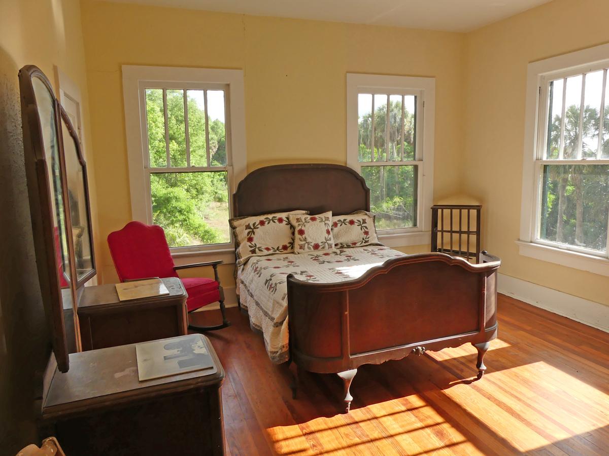 Ma Barker's bedroom. Photo: Kathleen Walls