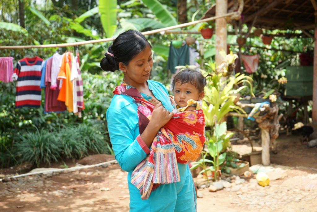Mother and Child in Licin